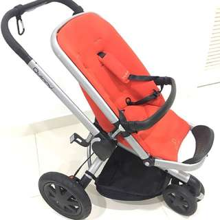 Quinny Buzz Stroller and Baby Basket