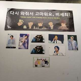 B1A4 slogan & photocard set