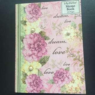 Lily McGee Memo Book