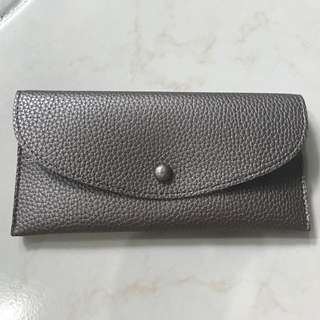 BRONZE COLOR LONG WALLET