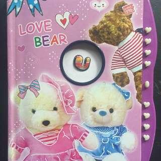 Secret Notebook/Diary