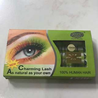 KOREAN CLUSTER 5 EYELASH EXTENSION 10mm