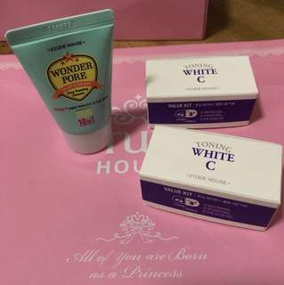 Etude House Products Sample