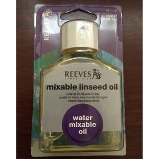 Reeves 75ml mixable linseed oil