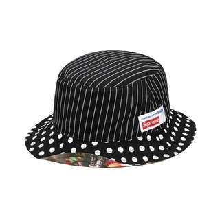 COMME des GARÇONS x SUPREME Harold Hunter Reversible Crusher in Black