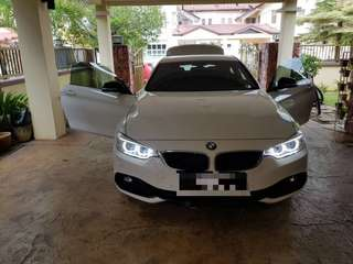 BMW 420i coupe low mileage! ACCIDENT FREE 100000%!! NEGOTIABLE!!
