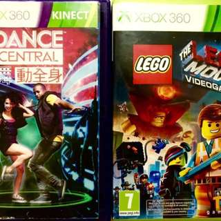 Fire Sales 🔥: XBOX 360 Games : LEGO MOVIE / DANCE CENTRAL