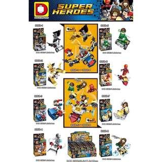 DLP9068 Justice League 8in1 Minifigures Sets
