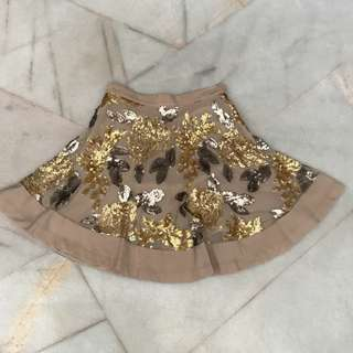 Duchess & Co sequinned skirt
