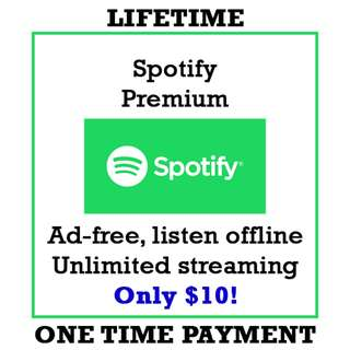Spotify Premium Upgrade [LIFETIME]