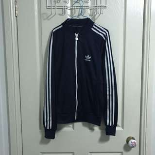 Adidas original navy blue jacket