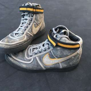 High top Nike shoes