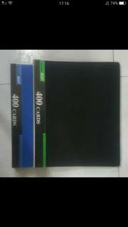 Cards holder file ( 400 cards / file)  . Take all 2 for $15