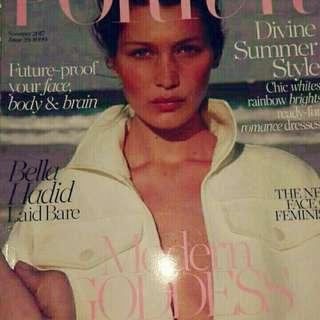Bella hadid magazine porter