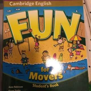 Cambridge English  Fun for movers
