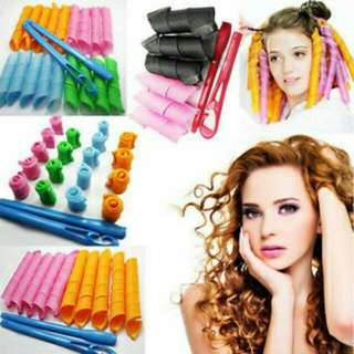 SALON ROLL KRITING RAMBUT FASHION WANITA