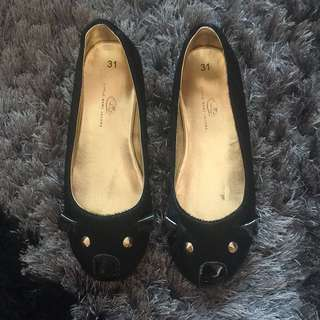 ORIGINAL LITTLE MARC JACOBS Mouse Black Shoes
