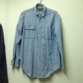 🚚 Polo Ralph Lauren 條紋 牛仔襯衫