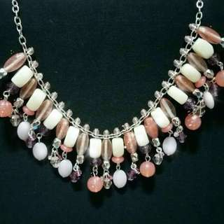 Baby Pink Like Necklace