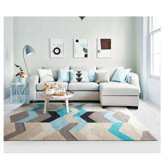 Colors & Lines Contemporary 3D Rug