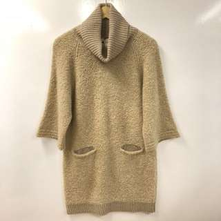 3.1 Phillip Lim camel knitted top neck long top or dress size