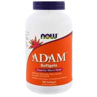 Now Foods, ADAM, Superior Men's Multi, 180 Softgels