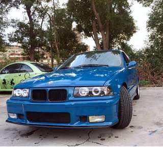 【阿信嚴選中古車】100% 實車實價 1991 E36 318I 1.6 經典有品味的改裝 路上不樣的焦點