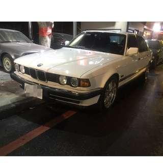 【阿信嚴選中古車】100% 實車實價 1989 E32 730I 3.0 經典大7 安全保護 堪稱第一安全性高