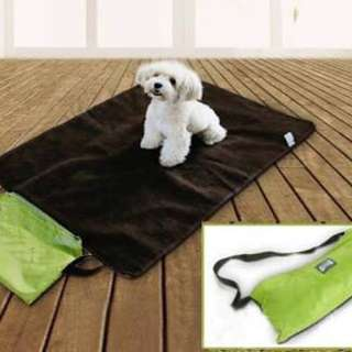 New pet/dog portable outdoor waterproof mat with bag