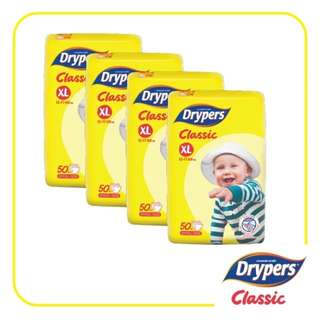 Drypers Classic Open XL50 (4 pack)