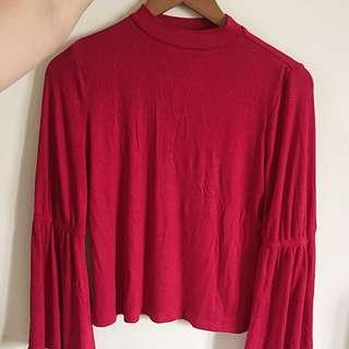 Mango shirt red