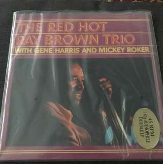 Groove Note The Red Hot Ray Brown Trio 2 LP 45RPM