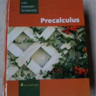 Precalculus book 4th Edition, by Margaret L. Lial