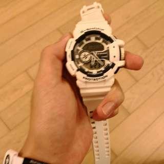 g shock黑白手錶