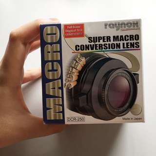 Raynox Super Macro Conversion Lens