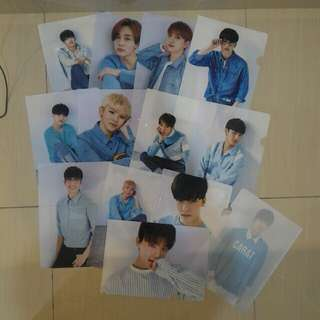Seventeen 2nd Official fankit Clear File