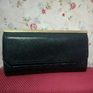 REPRICE!! Charles And Keith Black Wallet