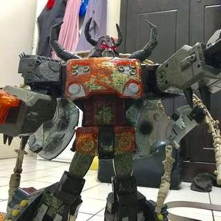 Energon Unicron Transformers loose