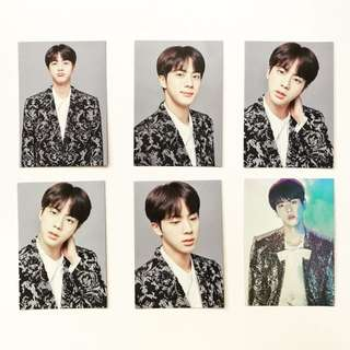 BTS The Final Mini Photocard Jin Set