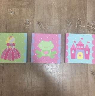 Princess canvas