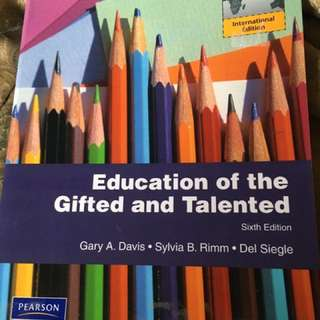 Education Gifted & Talented Sixth Edition