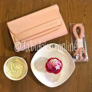 Starbucks Clutch with Adjustable Strap