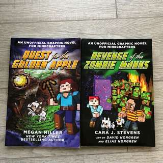 Minecraft comic Books