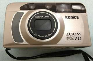 Konica Zoom FX-70 film camera for sale