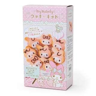 日本連線代購 My Melody 臉形狀手工製作餅乾成套工具情人節禮物