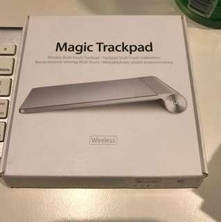 Magic tackpad 1 and Mac keyboard
