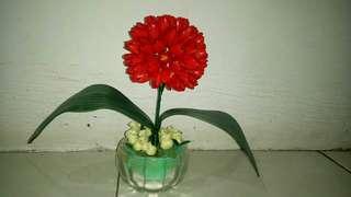 Pot bunga handmade