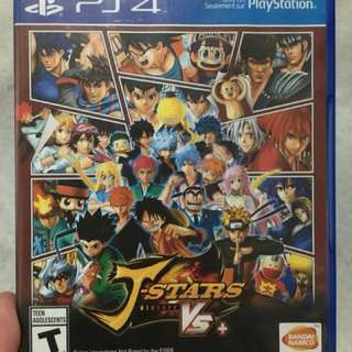 Game Play Station 4 PS4 J-Stars Victory VS+