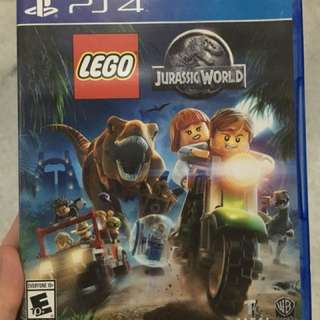 Game Play Station 4 PS4 Lego Jurassic World