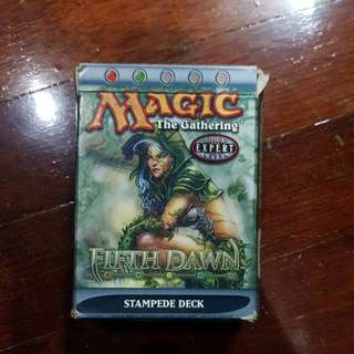 Magic The Gathering - Fifth Dawn (Stampede Deck)